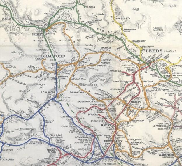 Midland through line map