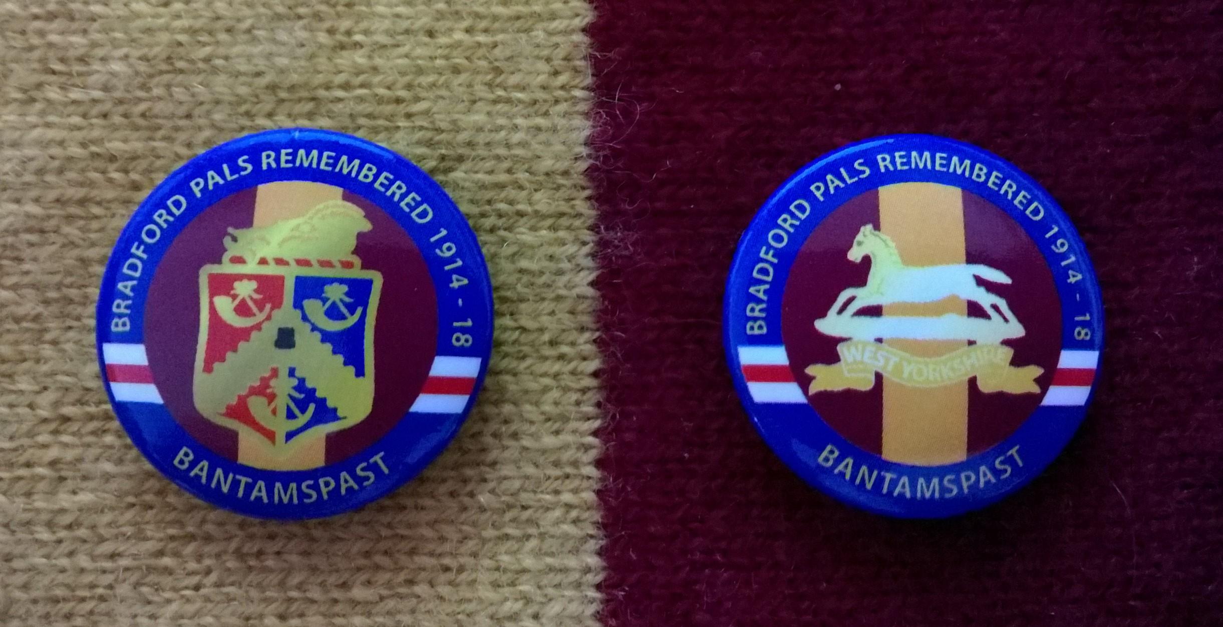 bantamspast Bfd Pals badges