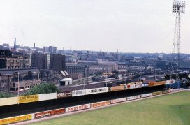 Valley Parade Midland Road stand 1975