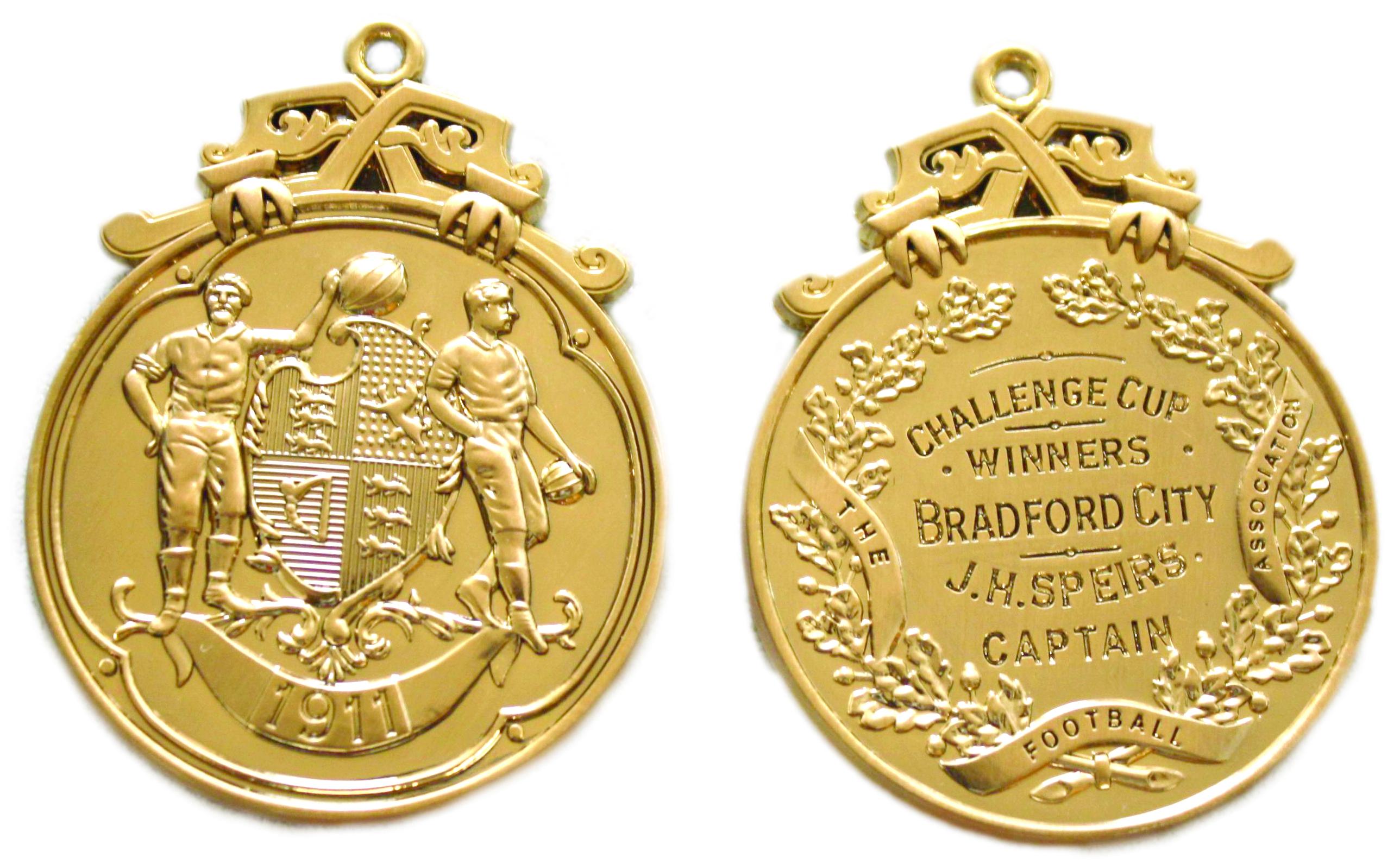 1911 FA Cup medal replica.jpg