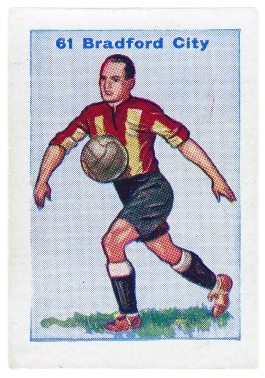 Thomson Football Team cards 1934