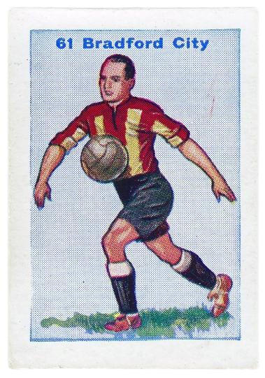 Thomson Football Team cards 1934