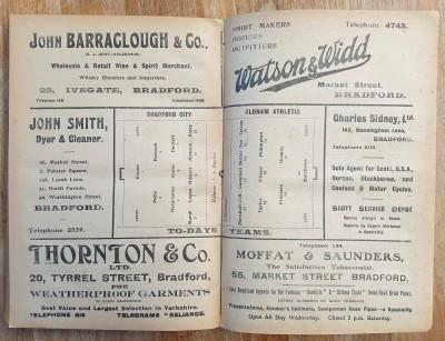 BCAFC v Oldham 1920-21