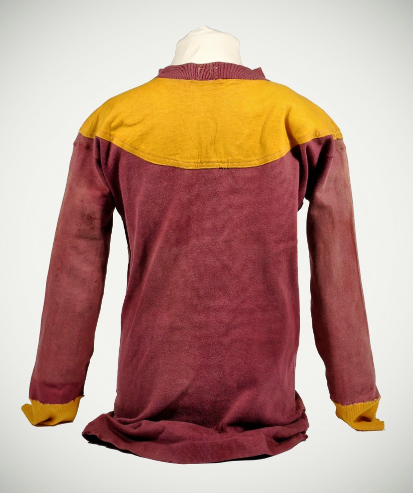 Motherwell shirt rear