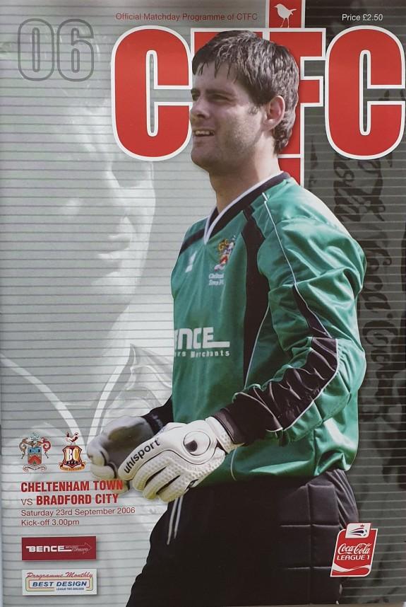 Cheltenham Away 2006-07 Away