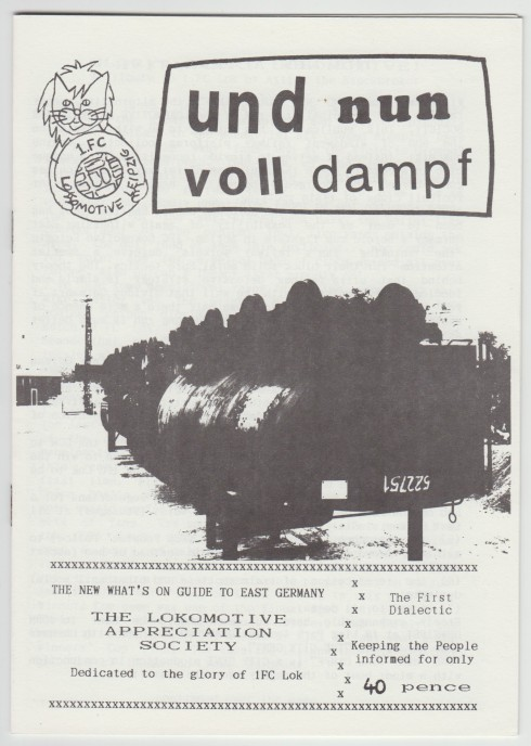 UND NUN VOLL DAMPF Cover