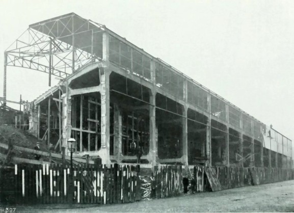 Midland road stand 1908