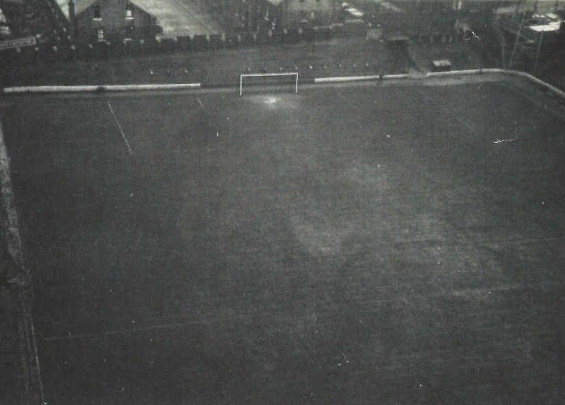 view from floodlights 1960s x2
