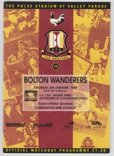 Bolton Wanderers 1995-96 (1)